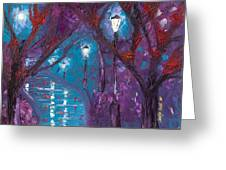Midnight Soliloquy  Greeting Card
