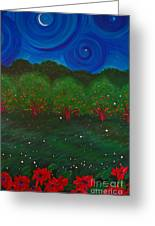 Midsummer Night By Jrr Greeting Card
