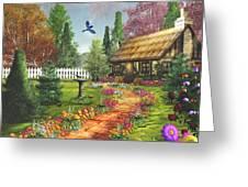 Midsummer's Joy Greeting Card