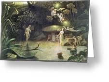 Midsummer's Night Dream Greeting Card