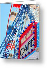 Midway Cafe Greeting Card