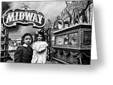 Midway Greeting Card