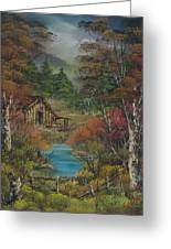 Midwestern Landscape Greeting Card