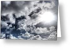 Mighty Clouds Greeting Card