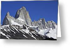 Mighty Mount Fitz Roy Greeting Card