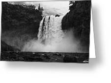 Mighty Snoqualmie Greeting Card