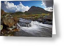 Mighty Tryfan  Greeting Card