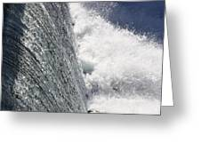 Mighty Water Greeting Card