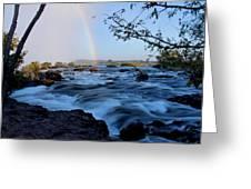 mighty Zambezi Greeting Card