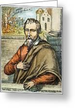 Miguel Serveto (1511-1553) Greeting Card