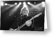 Mike Peters The Alarm By Diana Sainz Greeting Card