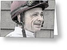 Mike Smith Portrait Greeting Card