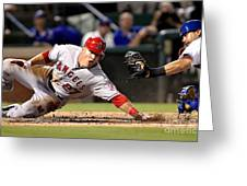 Mike Trout Greeting Card