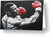 Mike Tyson 6 Greeting Card