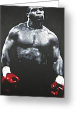 Mike Tyson 8 Greeting Card