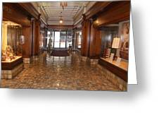 Milam Building Lobby Greeting Card