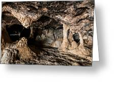 Milatos Cave Greeting Card
