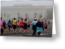 Mile 10 At Cliffhouse Greeting Card by Dean Ferreira