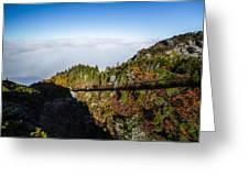 Mile High Bridge Greeting Card