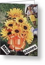Mile Stones Greeting Card