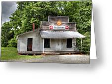 Miles Country Store Greeting Card