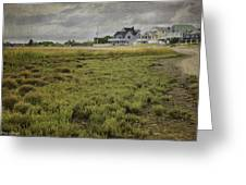 Milford Point Beach Greeting Card
