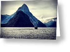 Milford Sound I Greeting Card