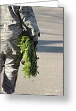 Military Christmas  Greeting Card