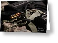 Military Pile Greeting Card