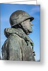 Military Soldier Greeting Card