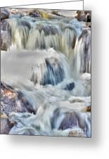 Milky Waterfall Greeting Card