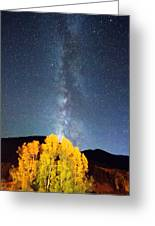 Milky Way October Sky Greeting Card by James BO  Insogna