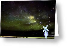 Milkyway  Crossing Blur Greeting Card