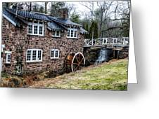 Mill Along The Delaware River In West Trenton Greeting Card