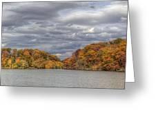 Mill Creek Park In Fall Greeting Card