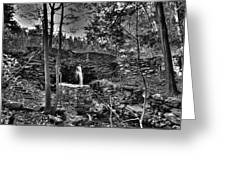 Mill Pond Dam Greeting Card
