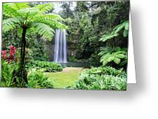 Millaa Millaa Falls Greeting Card