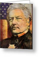 Millard Fillmore Greeting Card