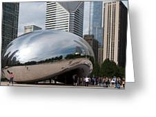 Millennium Park View Greeting Card