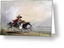 Miller - Shoshone Woman Greeting Card