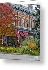 Miller Block Greeting Card by Keith Ducker