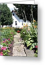 Miller Haus Garden Greeting Card