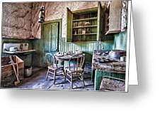 Miller House Kitchen Greeting Card