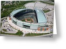 Miller Park Milwaukee Wisconsin Greeting Card
