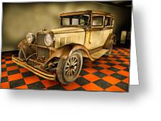 Millers Chop Shop 1929 Dodge Victory Six Before Greeting Card