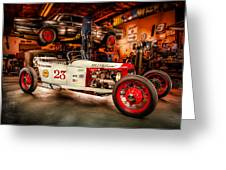 Millers Chop Shop Track T Toyota Greeting Card