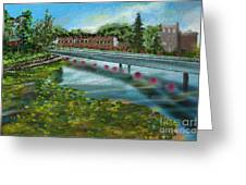 Millpond Greeting Card