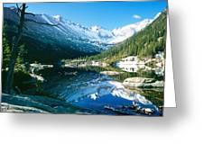 Mills Lake Greeting Card by Eric Glaser