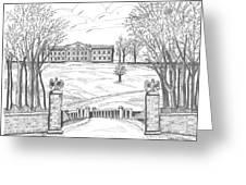 Mills Mansion Staatsburg Greeting Card