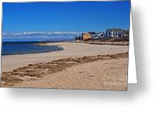 Millway Beach Greeting Card